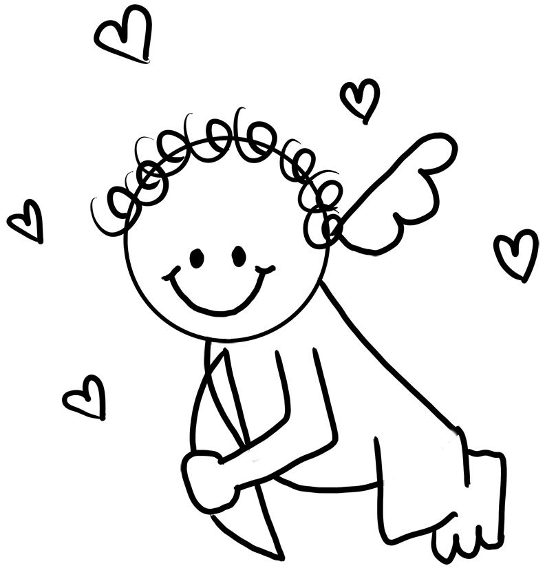 cupid coloring pages best coloring pages for kids