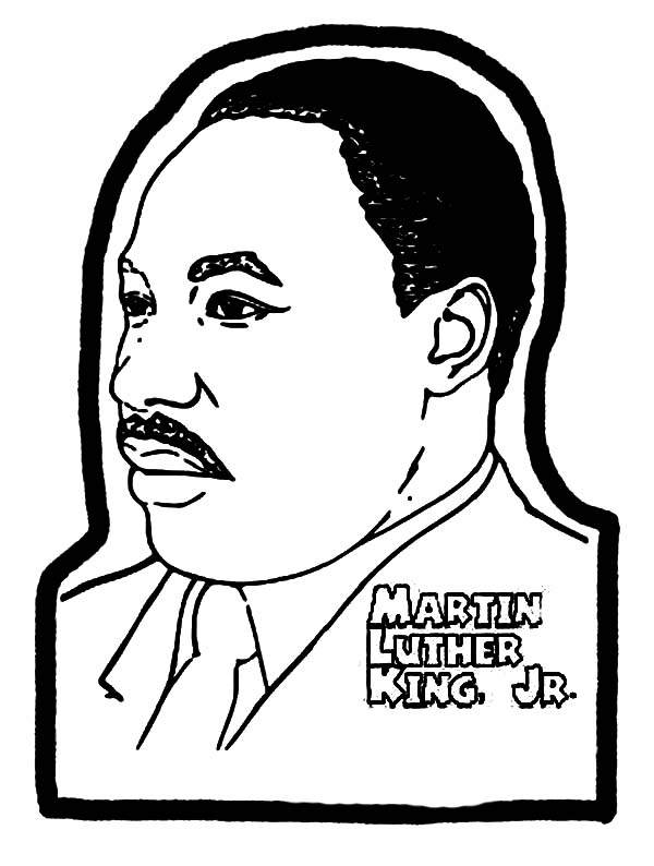 Martin Luther King Jr Coloring Pages And Worksheets - Best Coloring Pages  For Kids