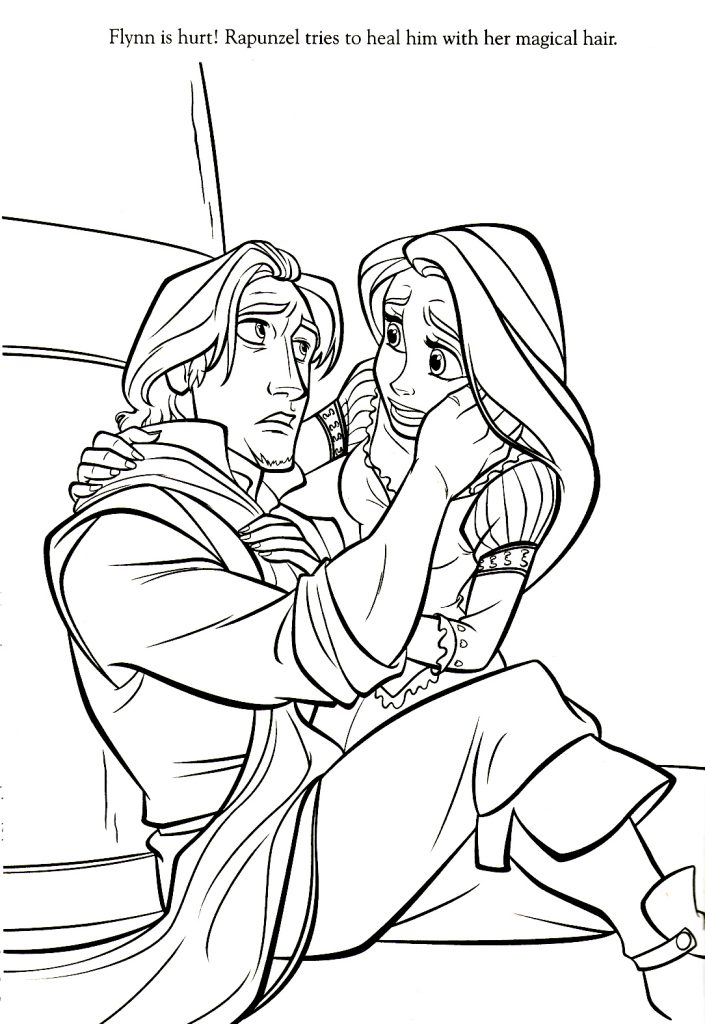 printable coloring pages rapunzel - photo#38