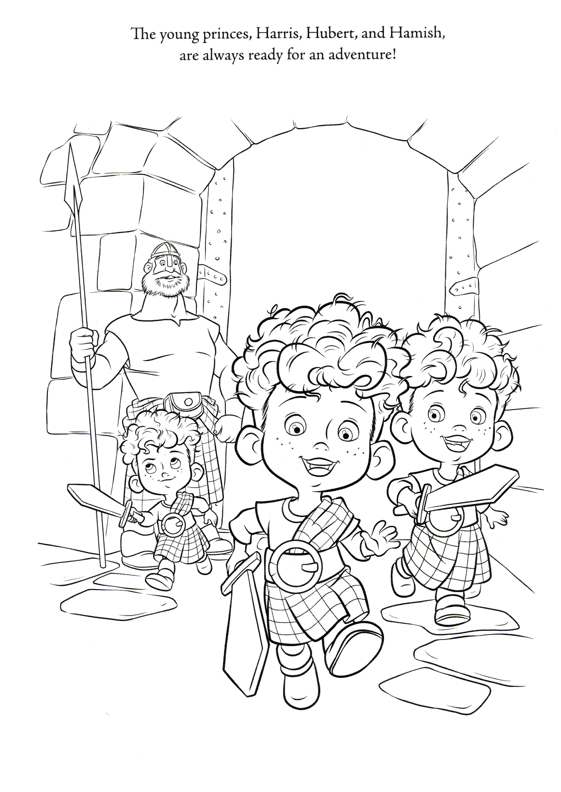 Brave Adult Coloring Pages
