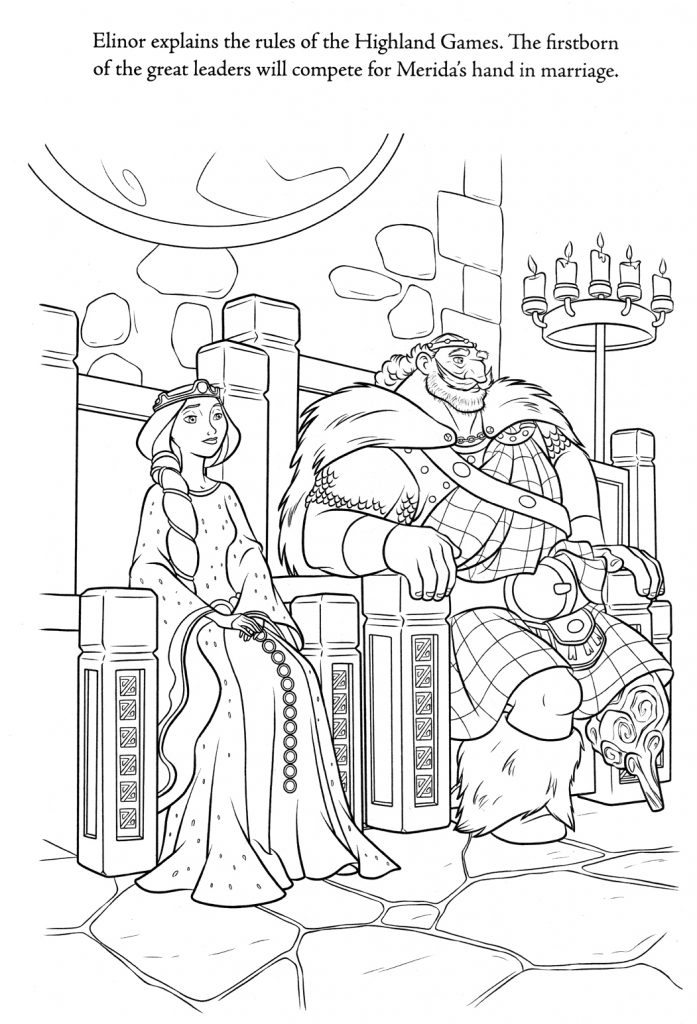 Brave Coloring Pages - Royalty