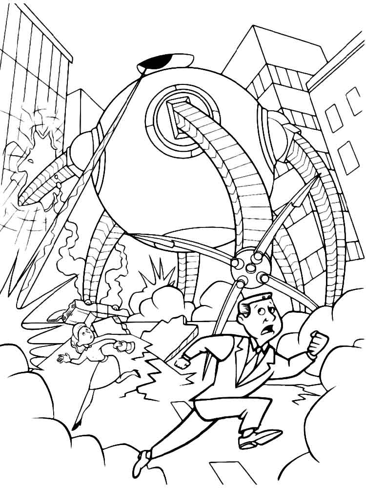 Download Free Incredibles Coloring Pages