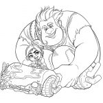 Download Free Wreck-it Ralph Coloring Pictures
