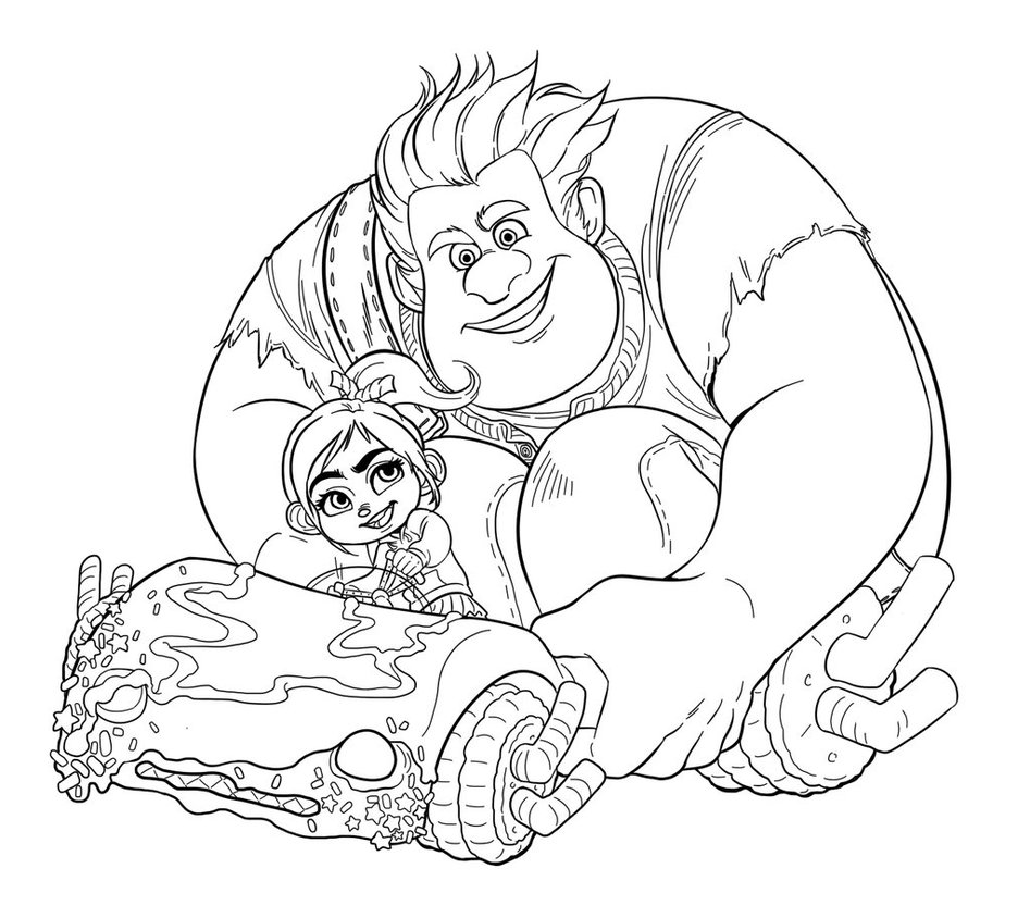 printable coloring pages free - wreck it ralph coloring pages best coloring pages for kids
