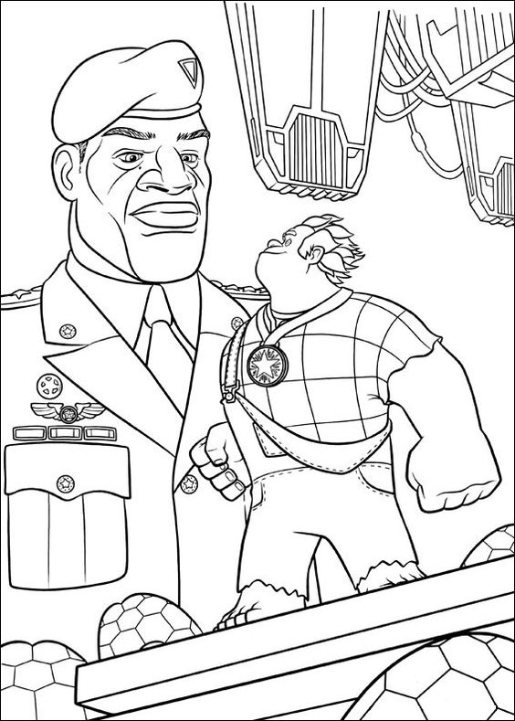 Download Wreck-it Ralph Coloring Pictures