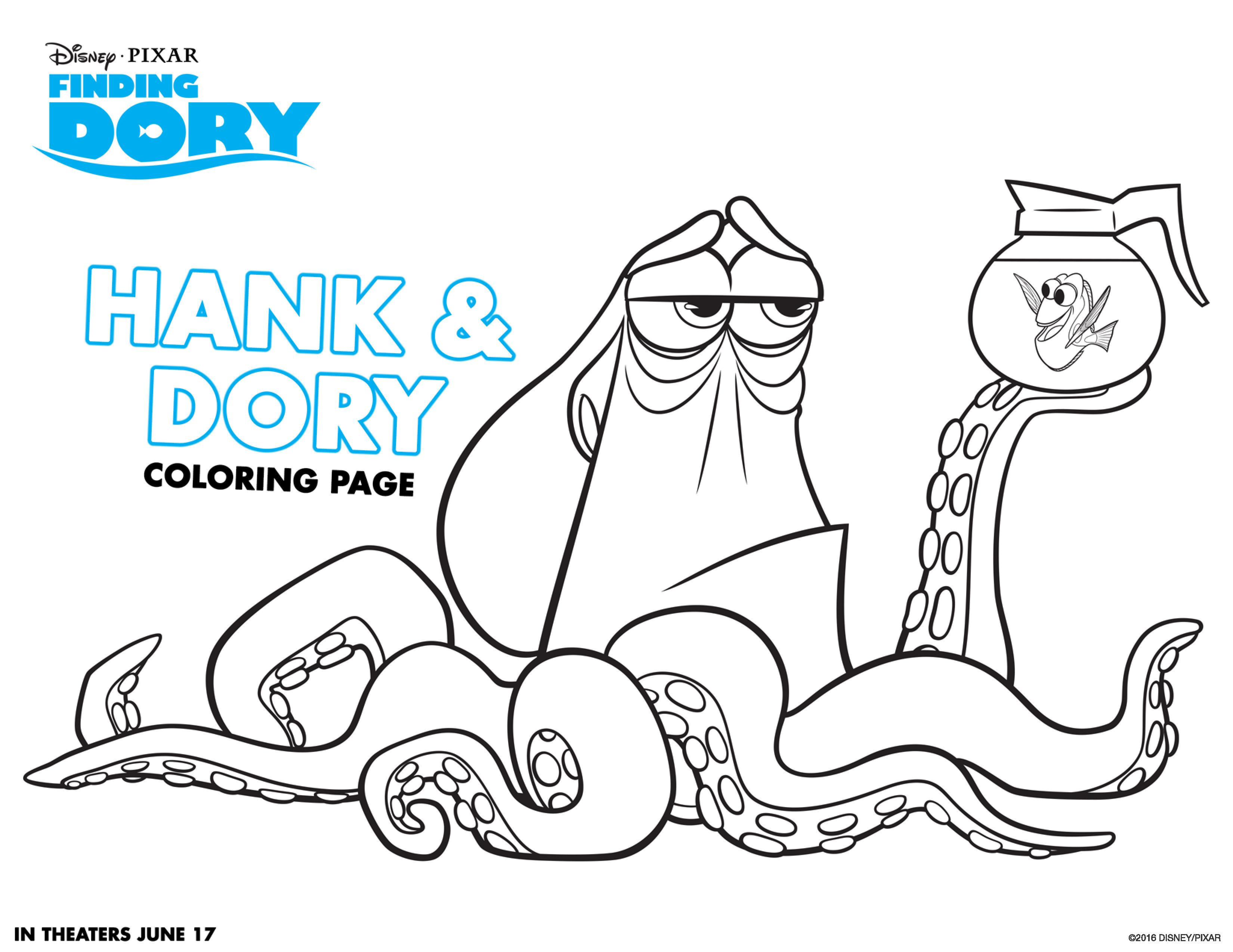Dory Coloring Pages - Best Coloring Pages For Kids