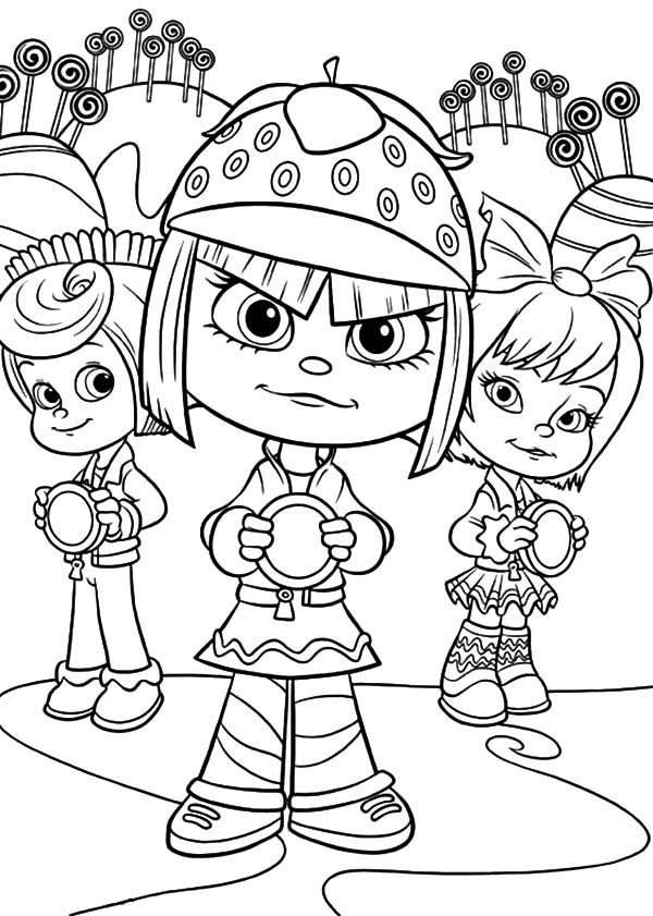 coloring pages for wreck it ralph | Wreck-it Ralph Coloring Pages - Best Coloring Pages For Kids
