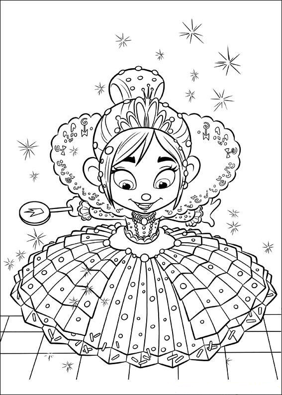Wreck it ralph coloring pages best coloring pages for kids - Coloriage ralph la casse ...