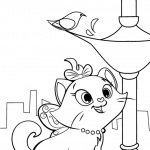 Download Aristocats Coloring Page Free