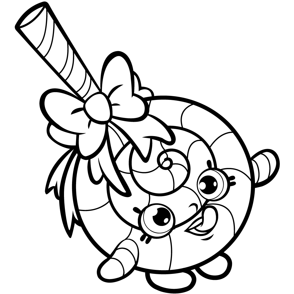 Free Shopkins Coloring Page Images