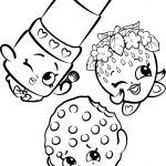 Free Shopkins Coloring Pages Images