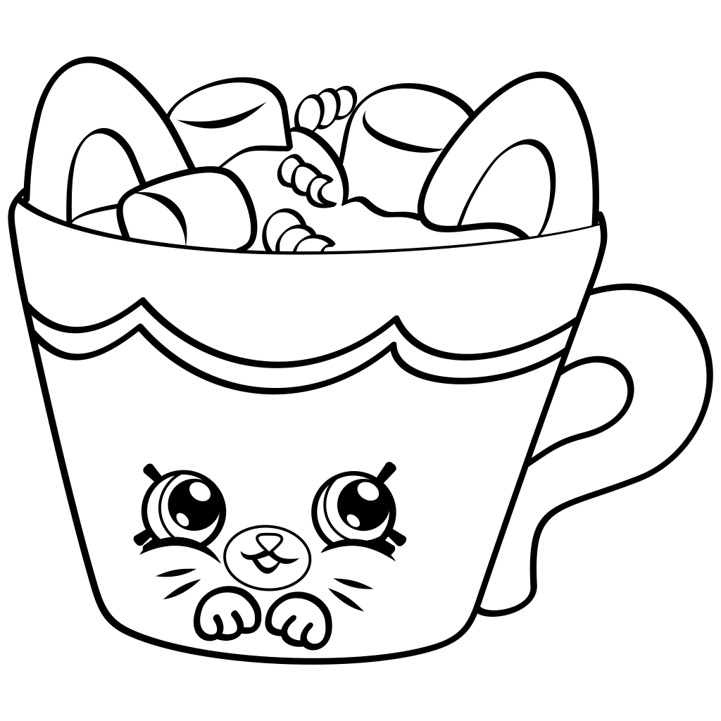 It is a graphic of Invaluable Printable Shopkins Coloring Pages