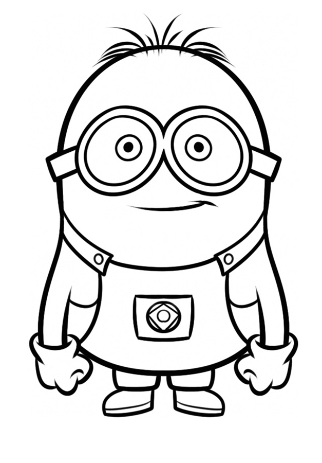 - Minion Coloring Pages - Best Coloring Pages For Kids
