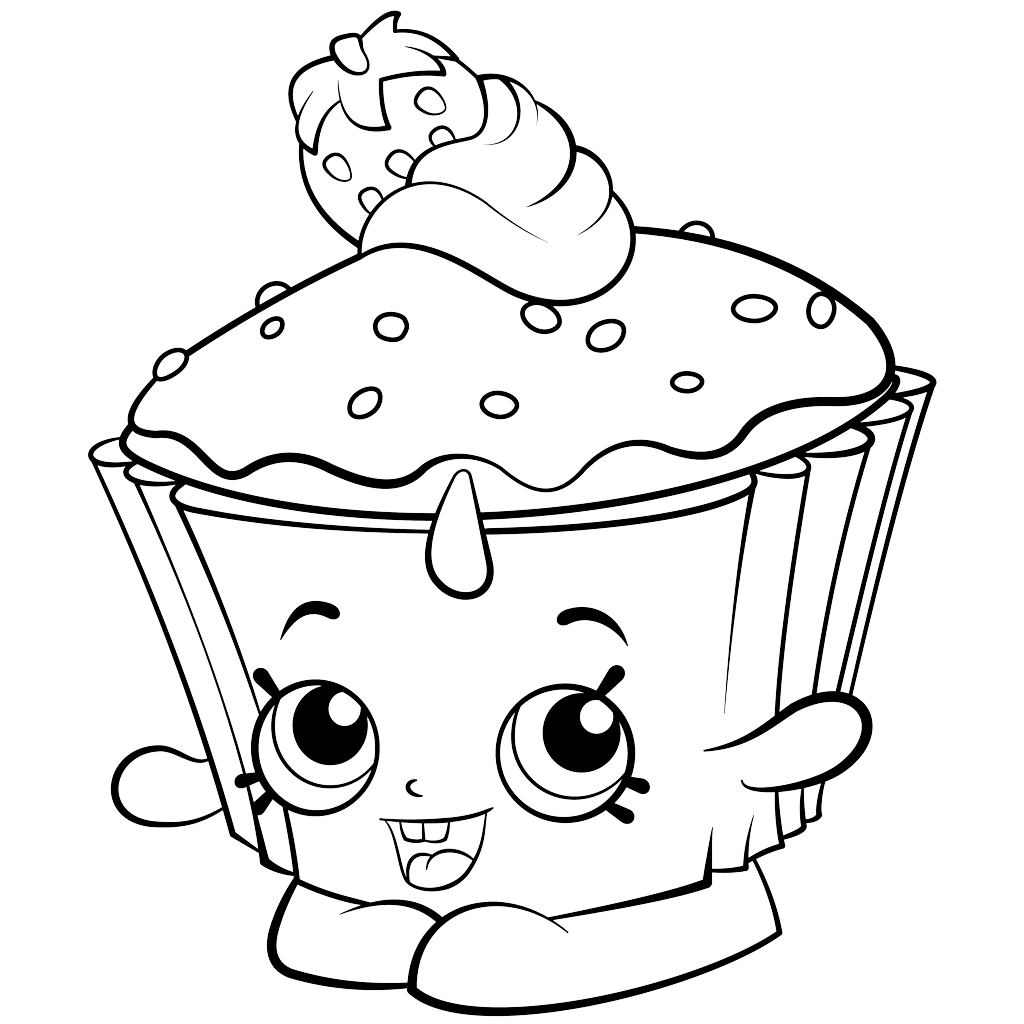 Shopkins Coloring Pages - Best Coloring Pages For Kids