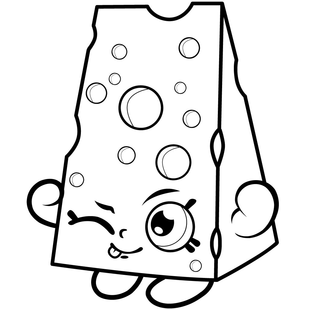 Shopkins Coloring Page Picture. Shopkins Coloring Page Images