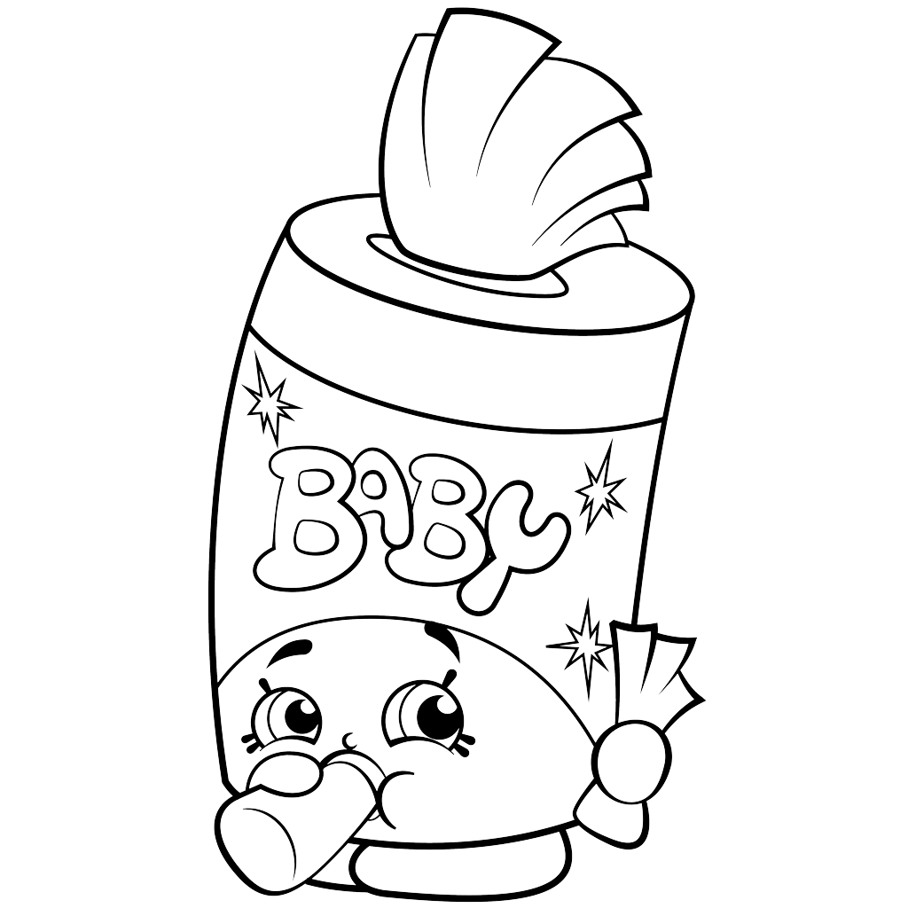 Shopkins Coloring Pages on Christmas Coloring Pages