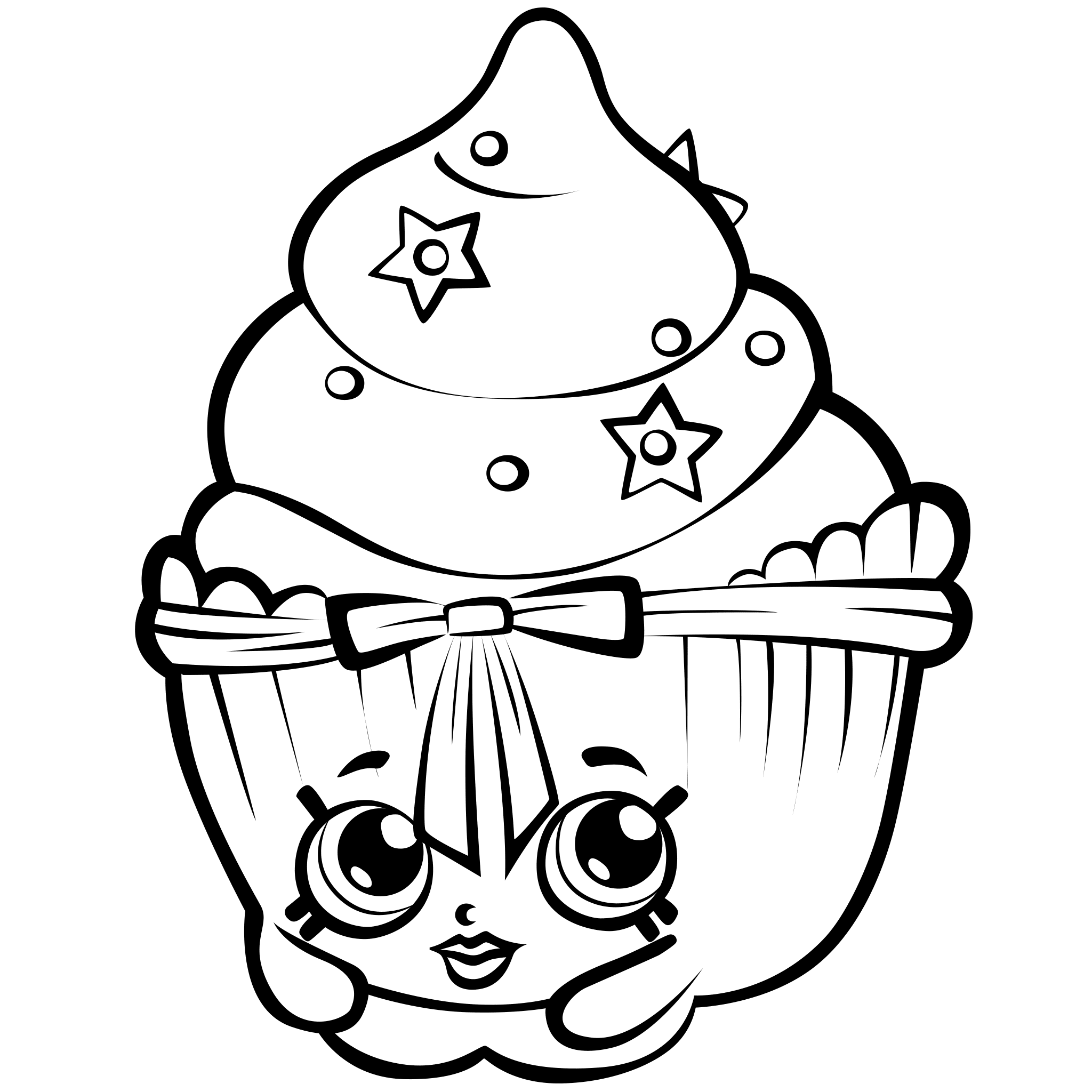 graphic regarding Shopkins Coloring Pages Printable known as Shopkins Coloring Internet pages - Easiest Coloring Web pages For Little ones