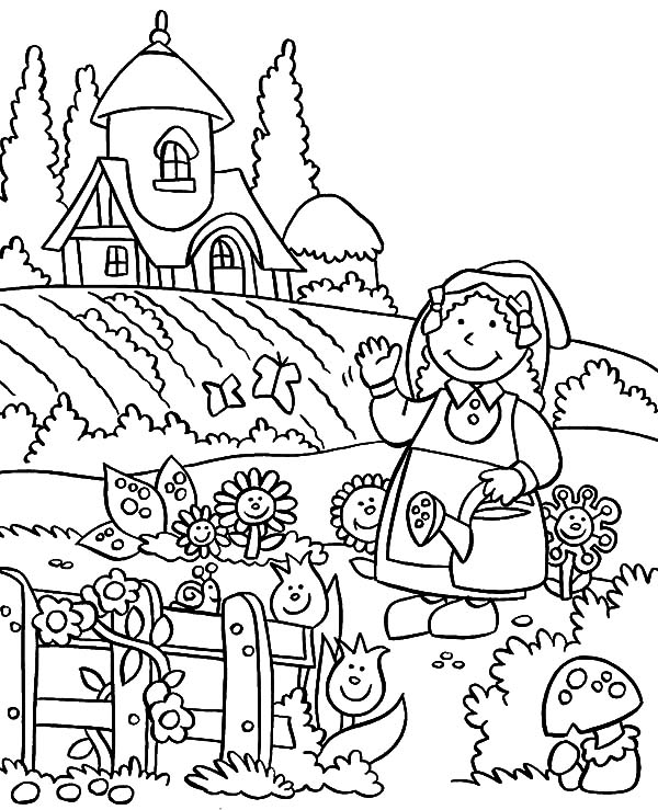 coloring pages free horticulture - photo#33