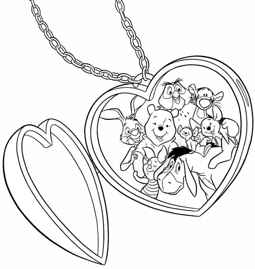 Winnie the Pooh Tigger Coloring Pages