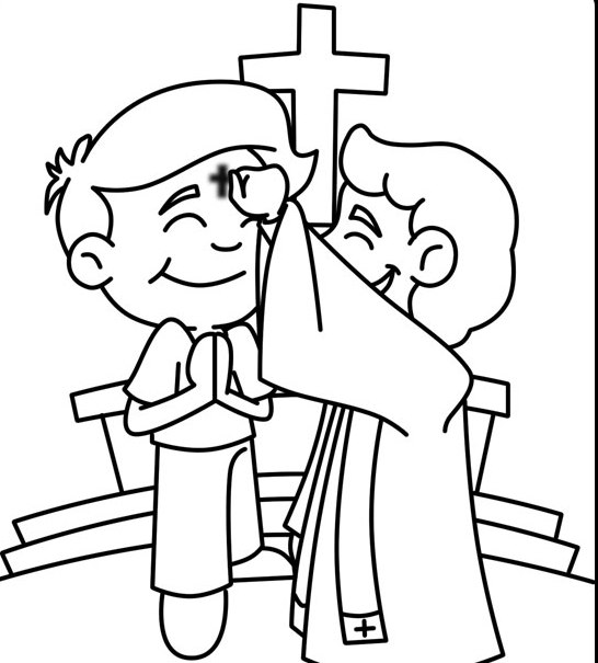 Ash Wednesday Coloring Pages - Best Coloring Pages For Kids