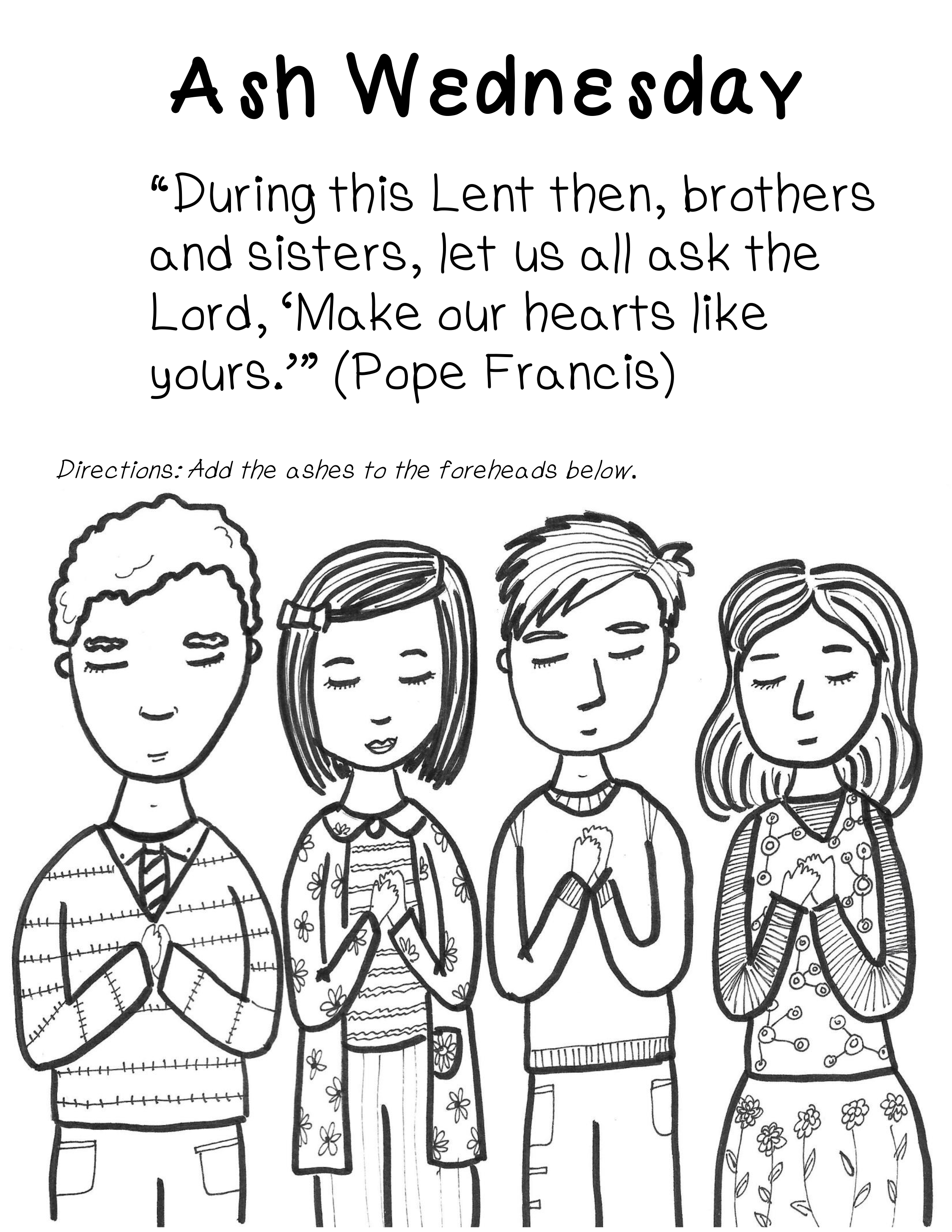 Ash Wednesday Coloring Pages Best Coloring Pages For Kids