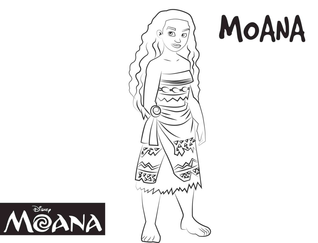 Maui from Moana coloring page | Free Printable Coloring Pages | 782x1024