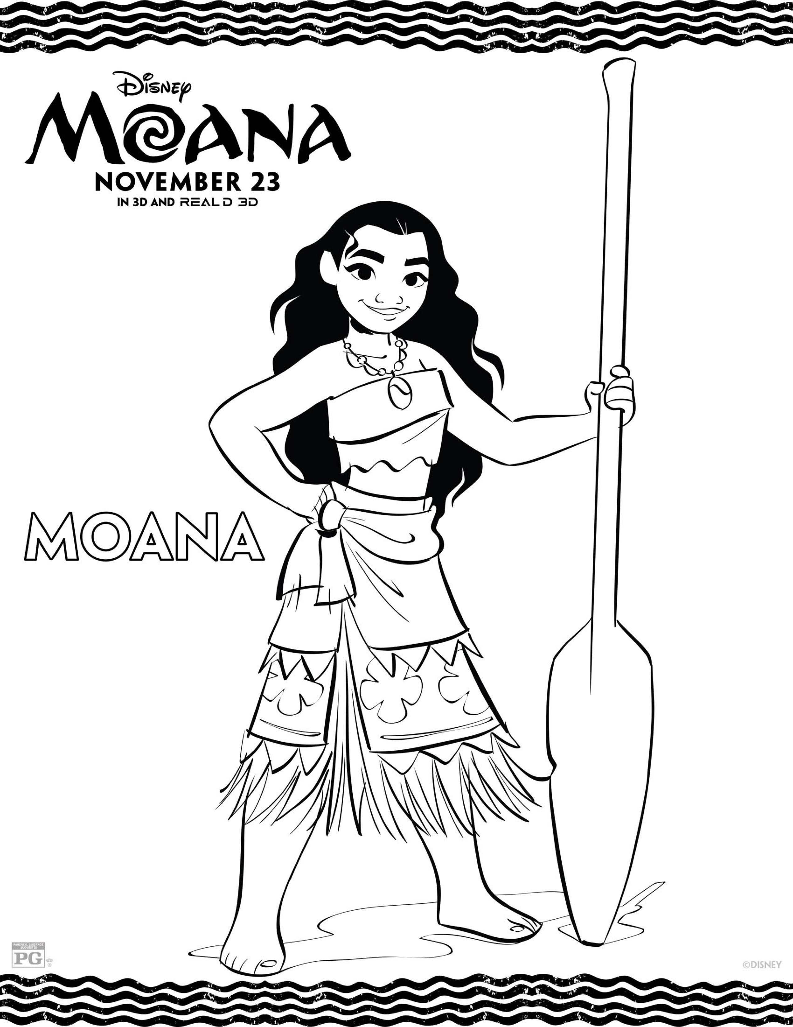 photo regarding Moana Coloring Pages Printable identify Moana Coloring Webpages - Least complicated Coloring Web pages For Children