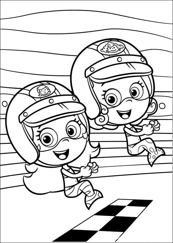 Free Bubble Guppies Coloring Page Printables