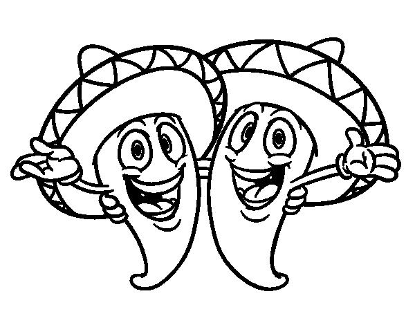 Free Cinco de Mayo Coloring Page Printable