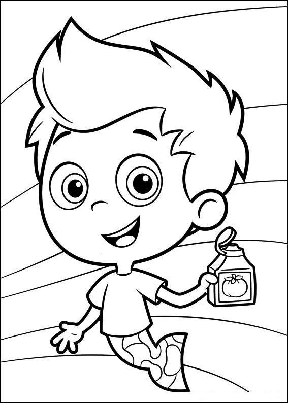 free printout coloring pages | Bubble Guppies Coloring Pages - Best Coloring Pages For Kids