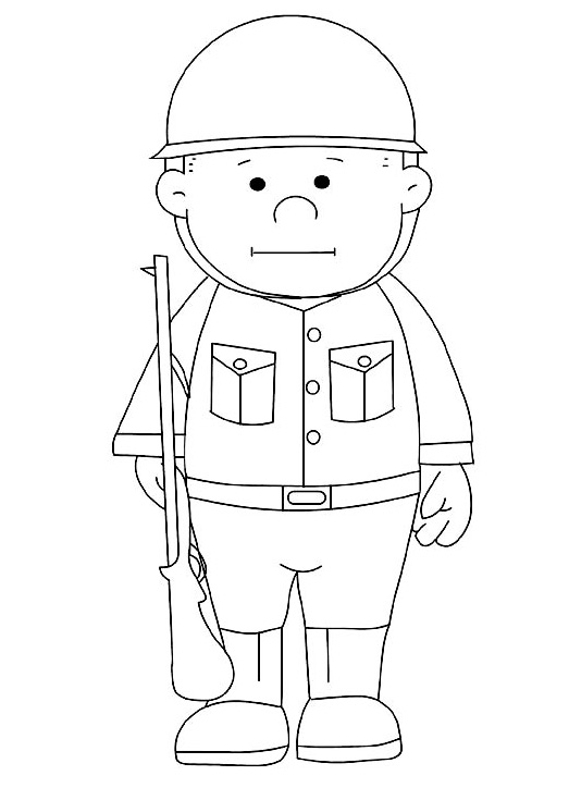 Memorial Day Coloring Page Free Printable
