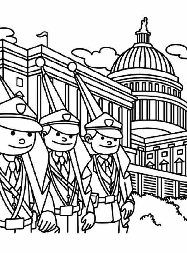 memorial day coloring pages printable - photo#25