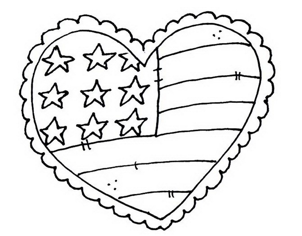 High Quality Print Free Memorial Day Coloring Page