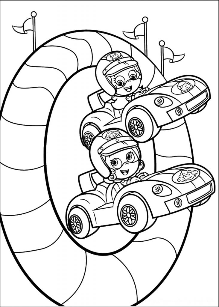Bubble Guppies Coloring Pages Best Coloring Pages For Kids