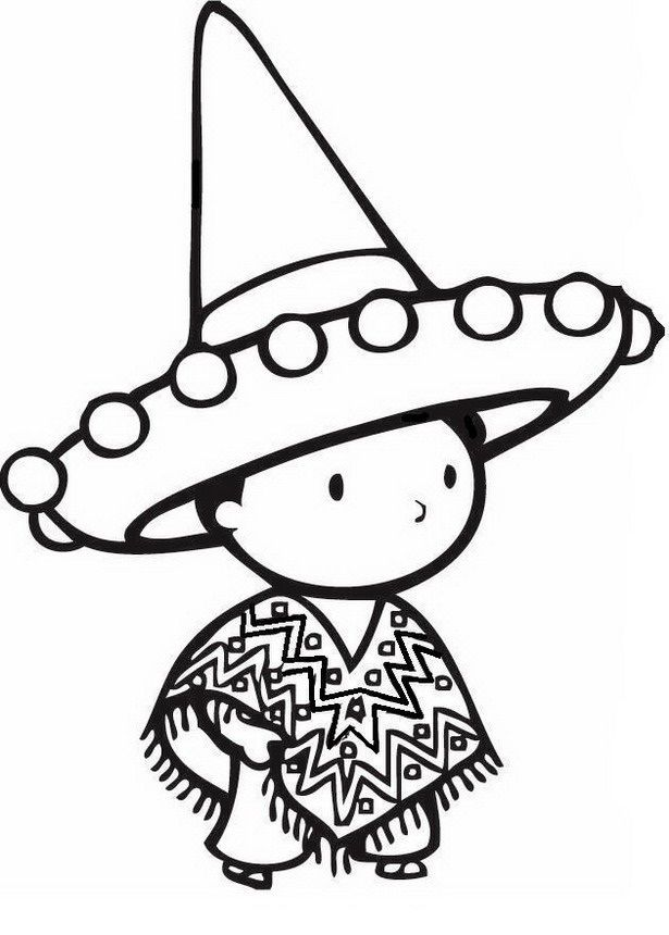 Cinco de Mayo Coloring Pages - Best Coloring Pages For Kids