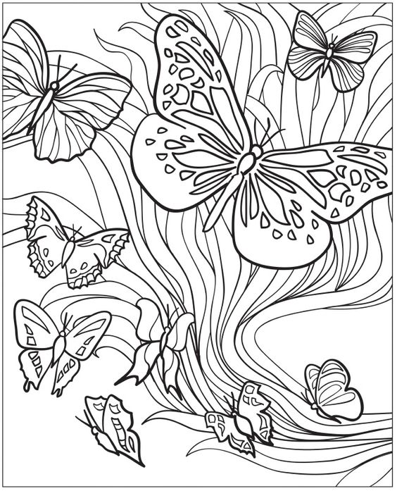Teenager Coloring Pages