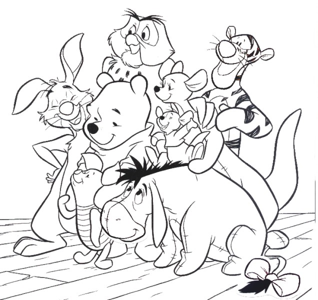 Download Friendship Coloring Pages