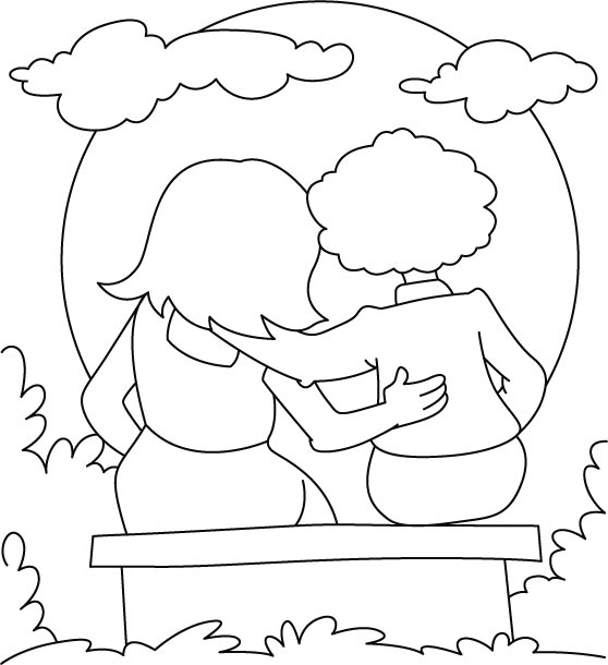 Friendship Coloring Pages - Best Coloring Pages For Kids