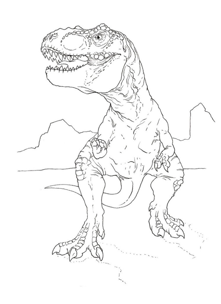 Adaptable image regarding t rex printable