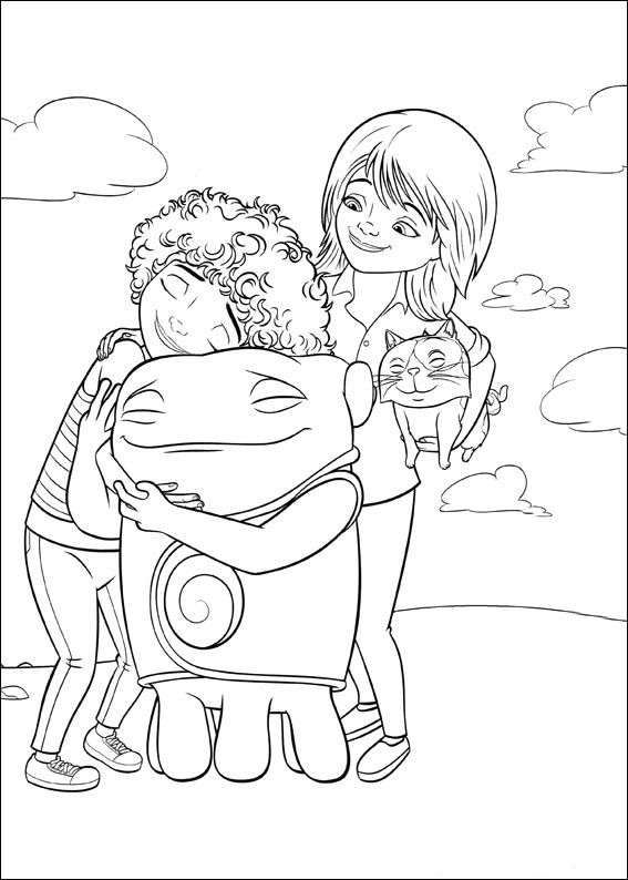 Home Coloring Page Printables
