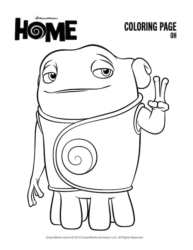 about home coloring pages - photo#6