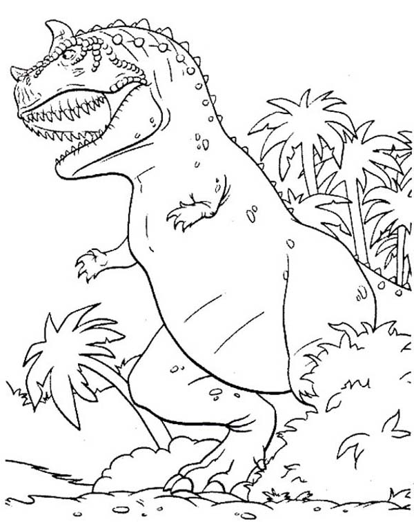 Printable TRex Coloring Pages