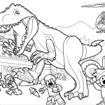 TRex Pictures to Print