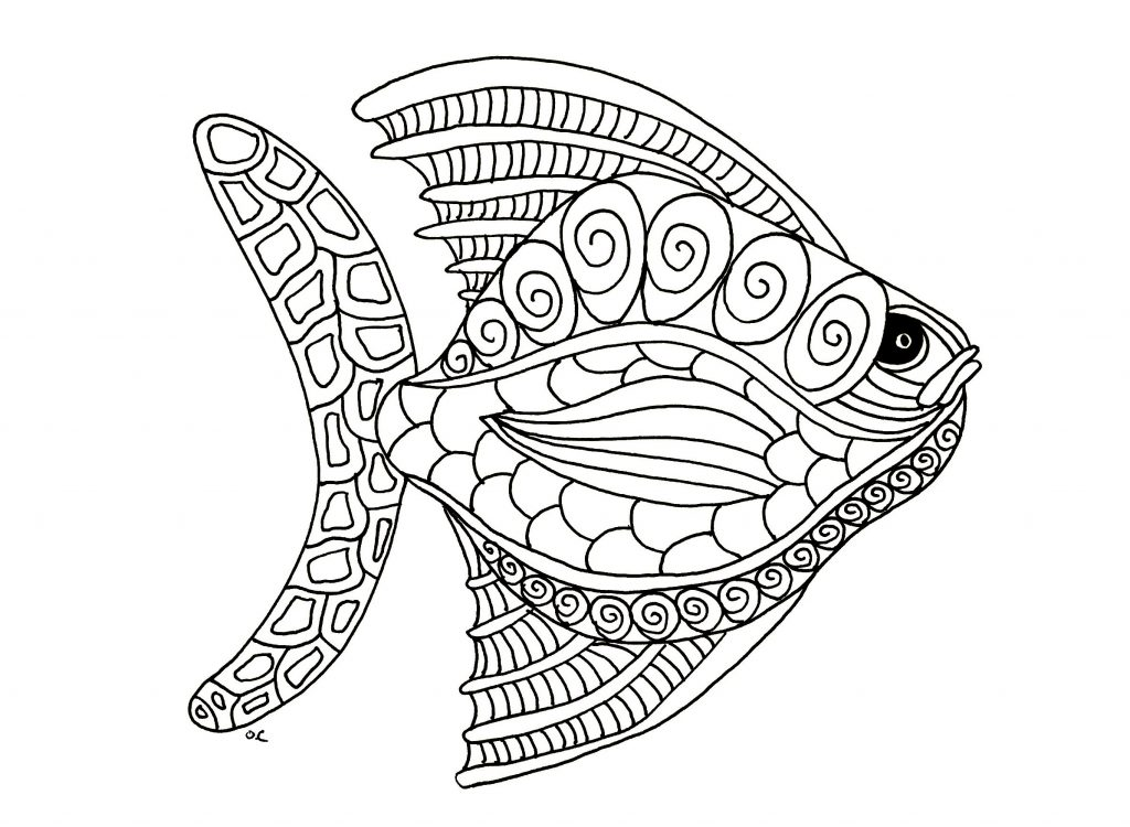 Animal coloring pages for adults best coloring pages for Giant coloring books for adults