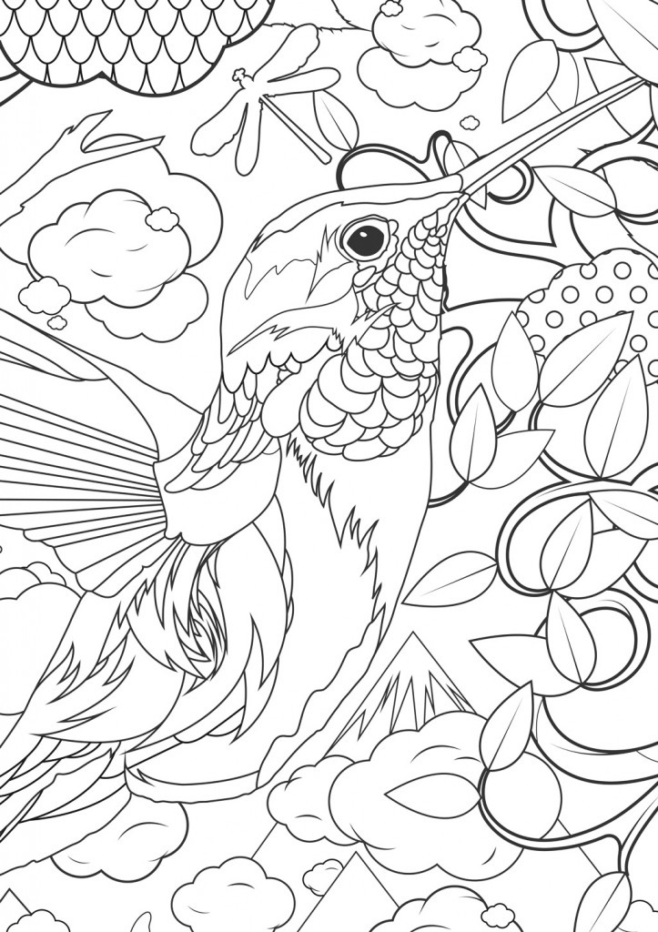 Adult Coloring Pages Animals - Best Coloring Pages For Kids