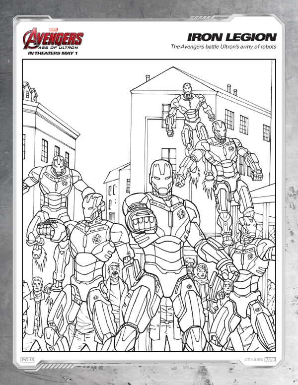 It is a photo of Clean Avengers Coloring Pages Printable