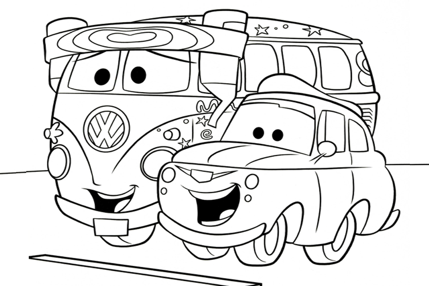 Free Printable Cars Coloring Pages