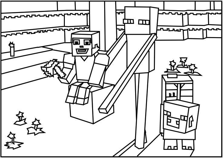 - Minecraft Coloring Pages - Best Coloring Pages For Kids