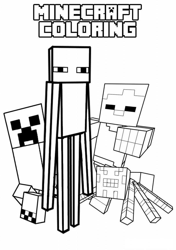 Minecraft Coloring