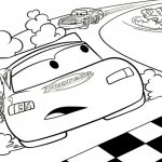 Printable Cars Coloring Page